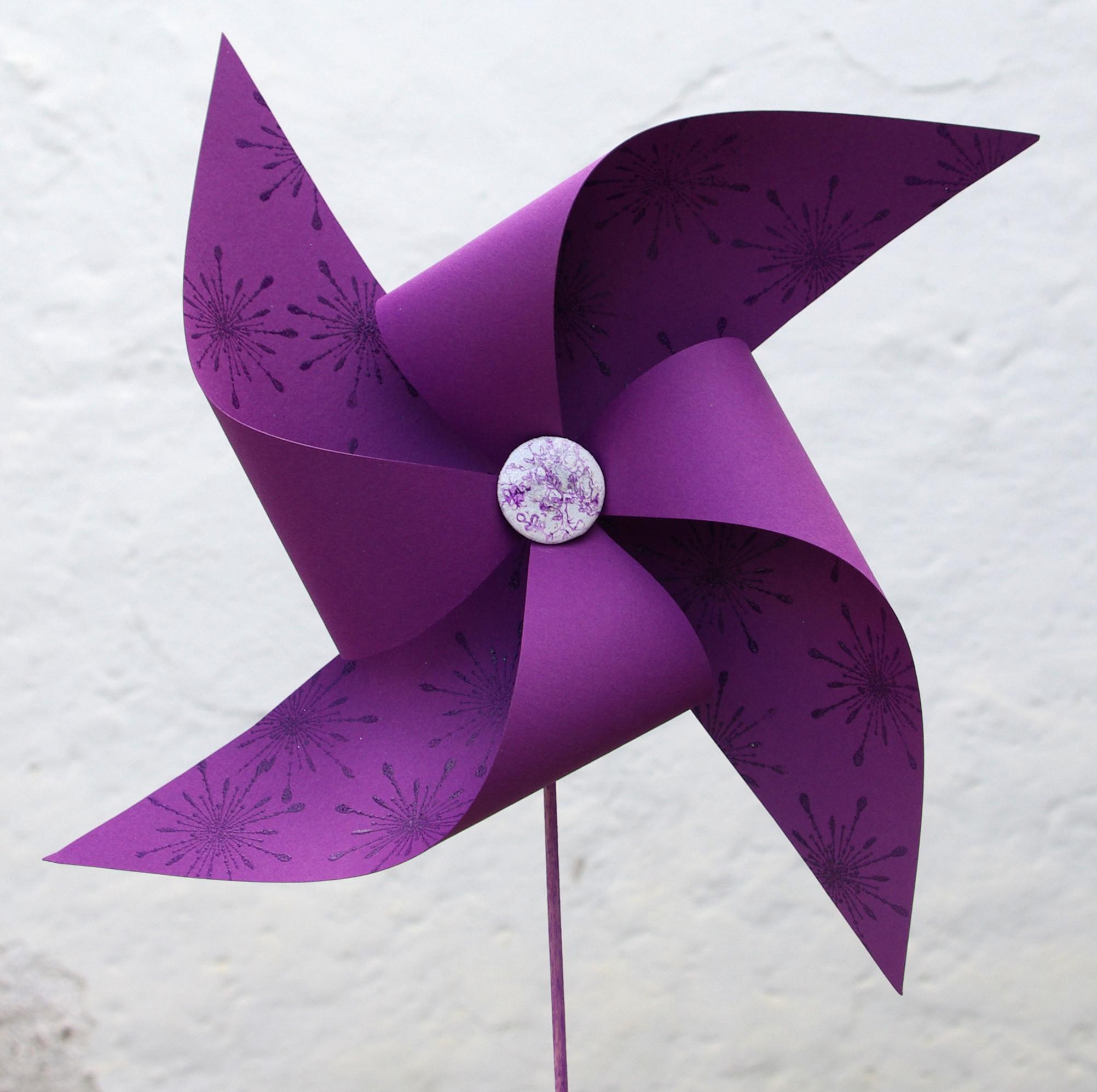 Ветряки из бумаги своими руками